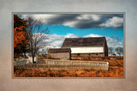 ba-0527 Trostle Farm in Autumn (Painterly)